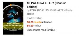 SUPERACIÓN MI PALABRA ES LEY